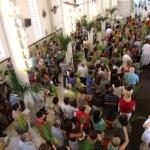 Missa do Domingo de Ramos (29.03.2015, às 9h), presidida pelo Padre Gildo, SDB.